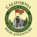 California High Adventure trip logo, 2012
